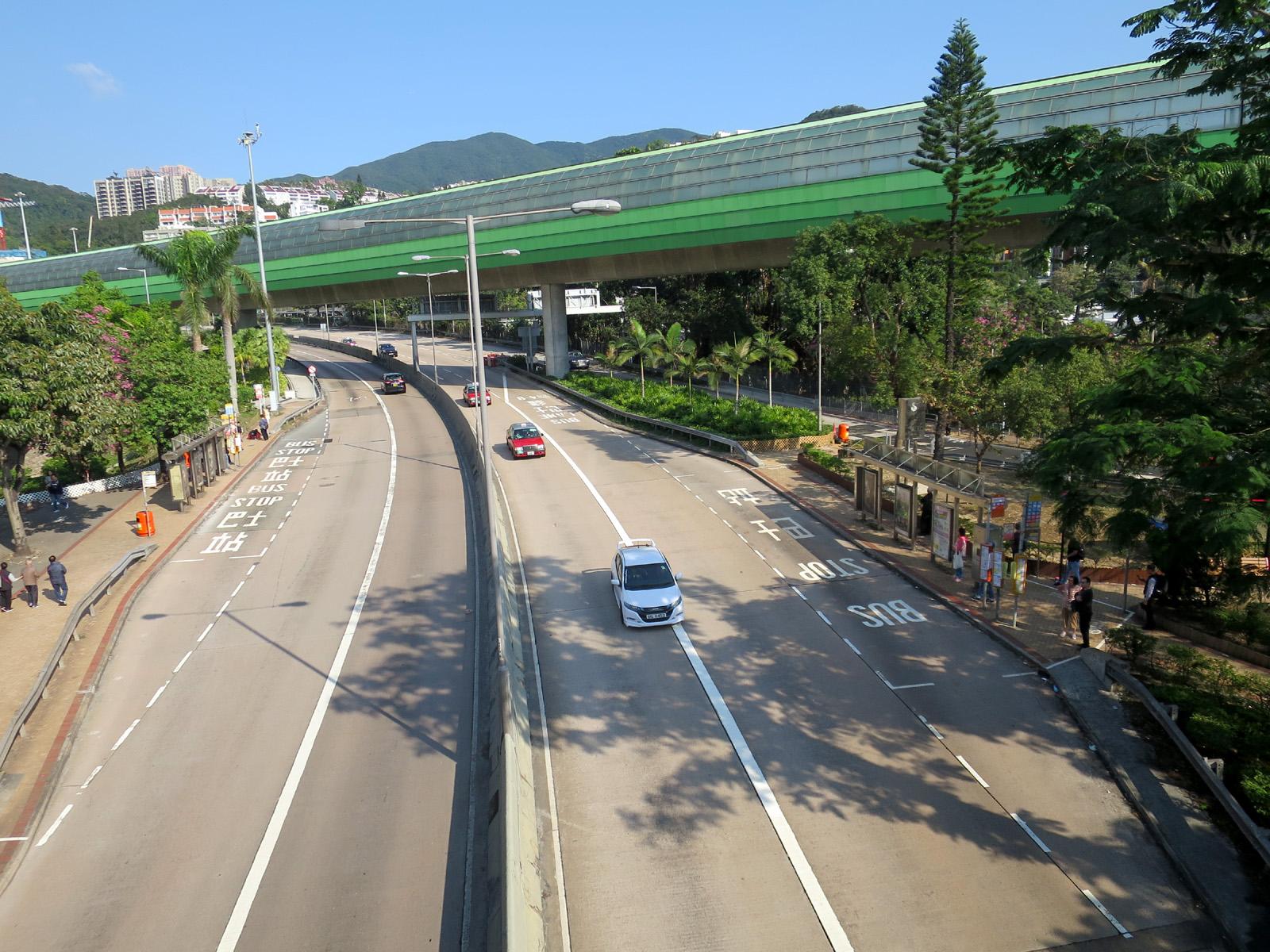 香港仔隧道收費廣場