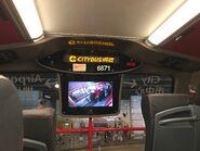 CTB 6871 WT269 Inside the upper deck