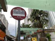 Kwai Fong Estate bus stop 27-08-2021(2)