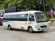 JJ7025 Ma On Shan Residents Bus Management Association NR84 in Yiu On Estate 15-07-2020