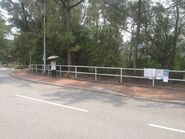 New Asia College CUHK 8 bus stop 04-05-2015