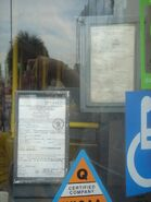 Close Road Permit Motor Vehicle Licence