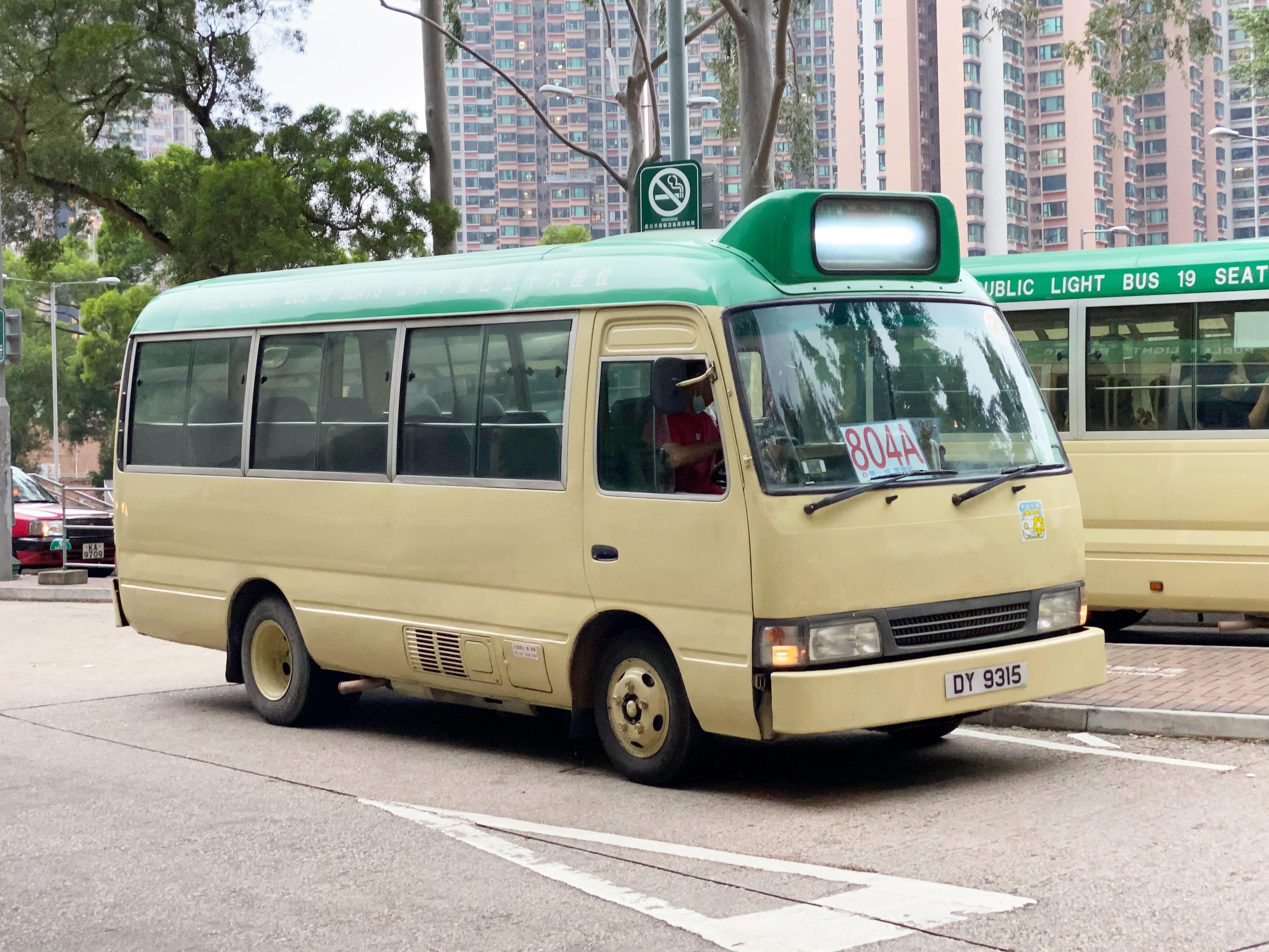 新界專綫小巴804A線