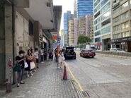 How Ming Street bus stop 14-07-2021