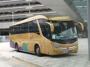 MD8704 Hong Kong-Zhuhai-Macao Bridge Shuttle Bus 26-10-2018