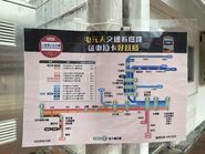 KMB Octopus Section Fare Poster in Tuen Mun District and Yuen Long District