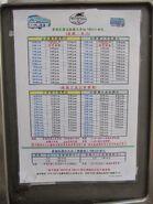 NR110-NR113 timetable eff 20130820