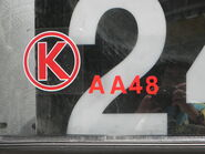 KMB AA48 Fleet Number
