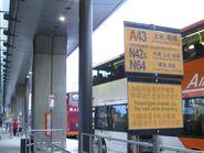 Airport GTC A43 N42A N64 sign