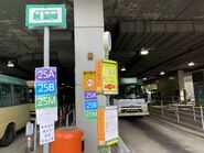 Kowloon 25A 25B and 25M minibus stop 29-08-2021