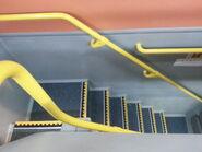 KMB VOLVO B9TL Straight staircase