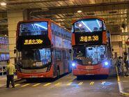 ATENU1492 run KMB 38P and V6B90 run KMB 38 14-12-2020