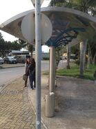 Discovery Bay Tunnel Toll Plaza bus stop 21-04-2015(3)