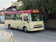 FF270 Yuen Long to Tai Tong(Tai Tong Shan Road departure) 24-12-2020