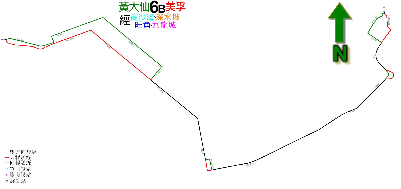 九巴6B線