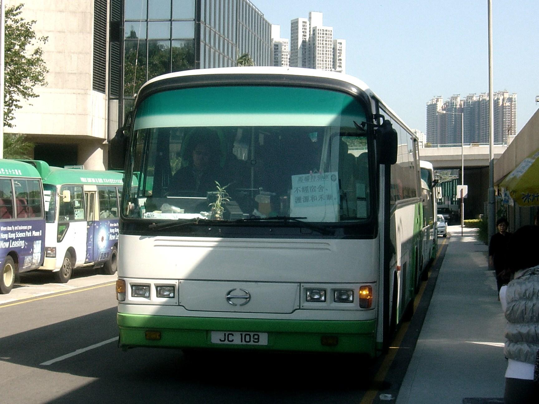 沙田馬場穿梭巴士路線J1X線