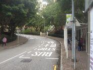 Vista Avenue bus stop view