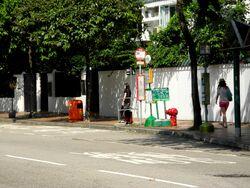 Village Gardens bus stop ----(2013 10).JPG