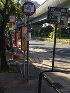 Saddle Ridge Garden Bus Stop 2015-1