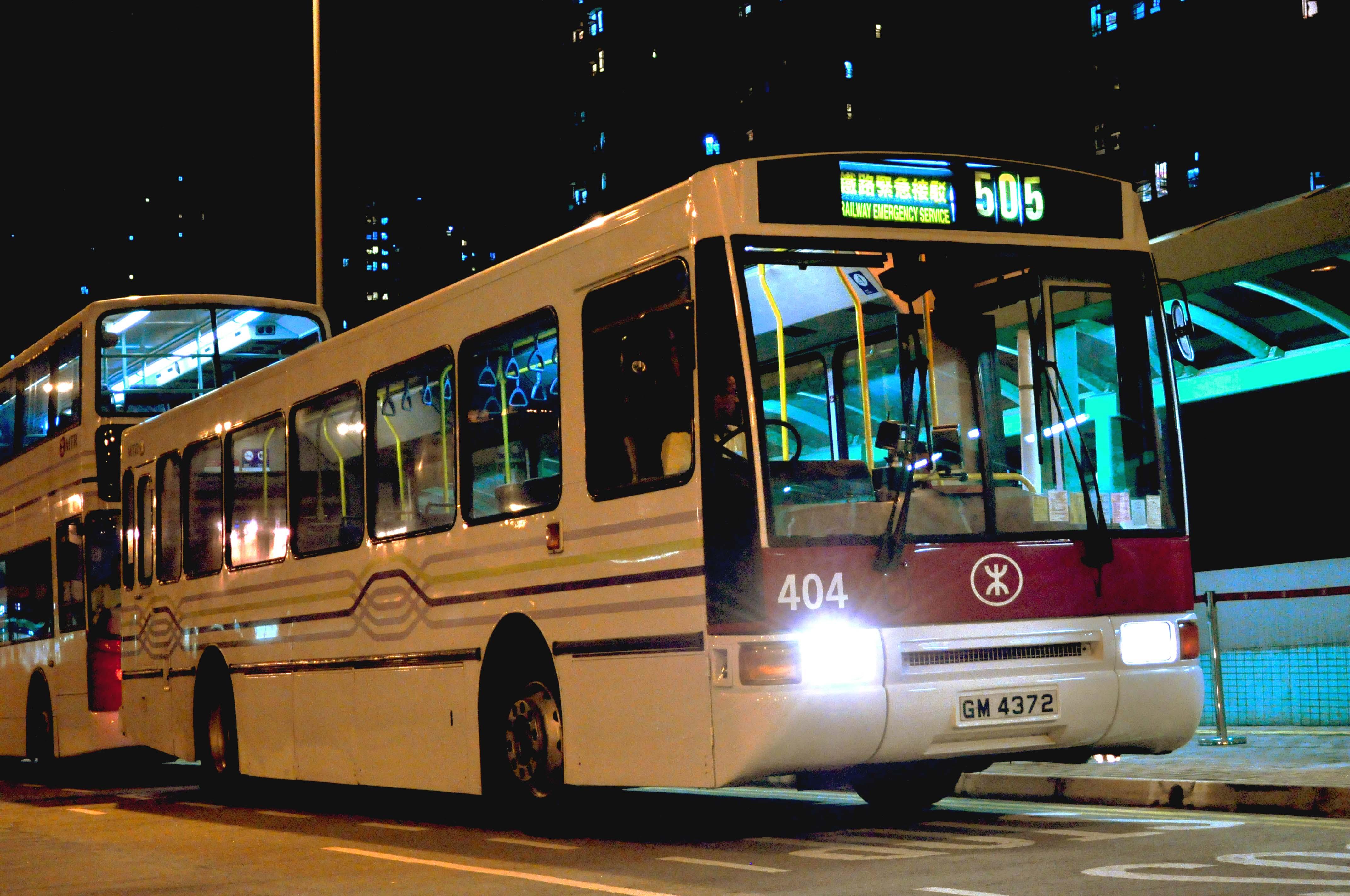 港鐵巴士505綫