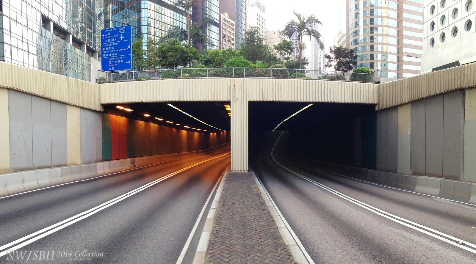 畢打街隧道