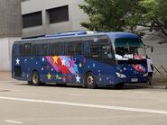 Hang Po Transportation UP654 MTR Free Shuttle Bus E99M 30-05-2021(2)