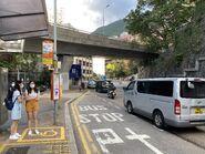Hill Road (Pok Fu Lam Road) bus stop 21-05-2021