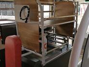 KMB V6B93 WG7574 Lower deck Luggage rack 08-09-2021
