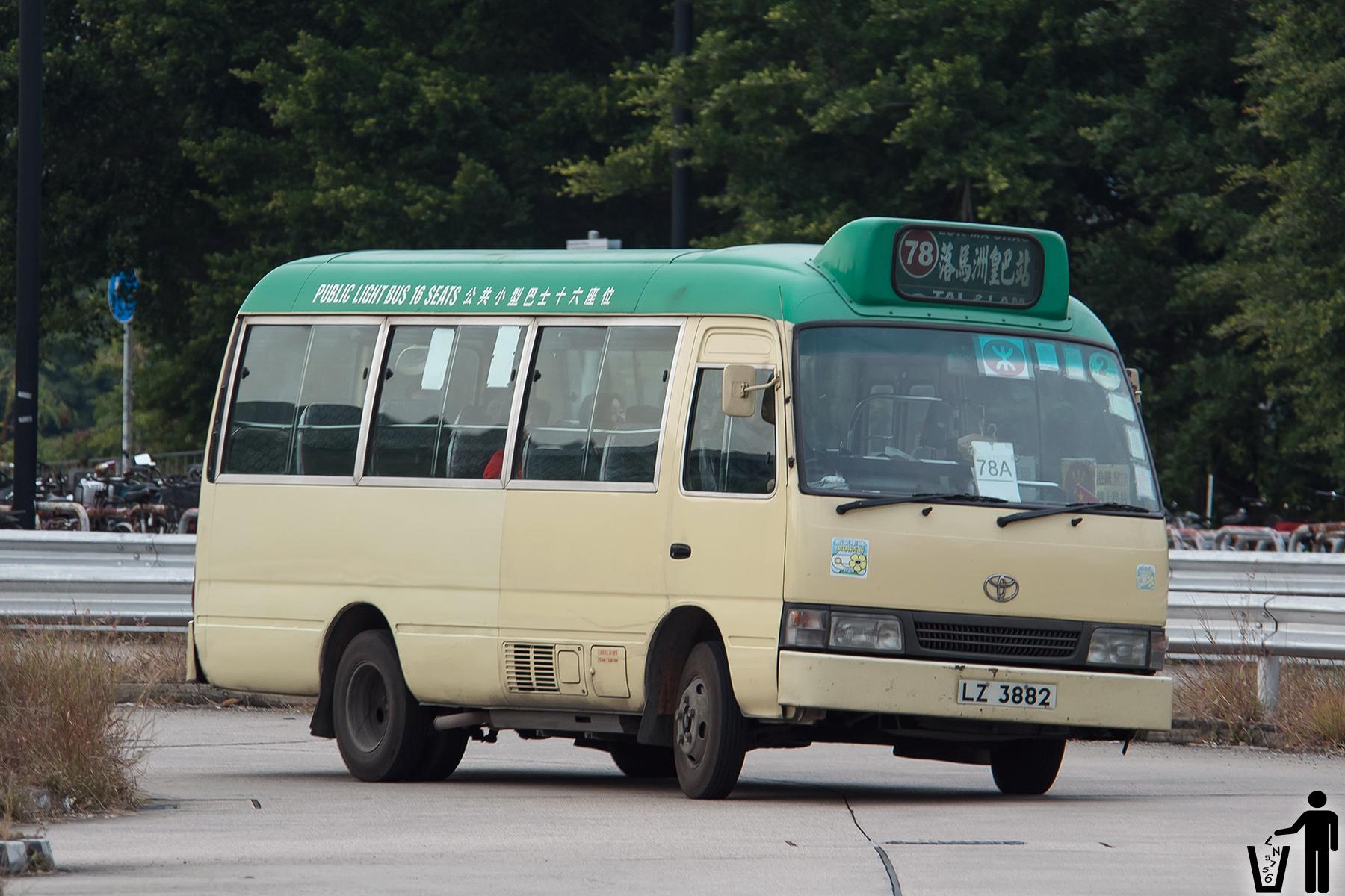 新界專綫小巴78A線