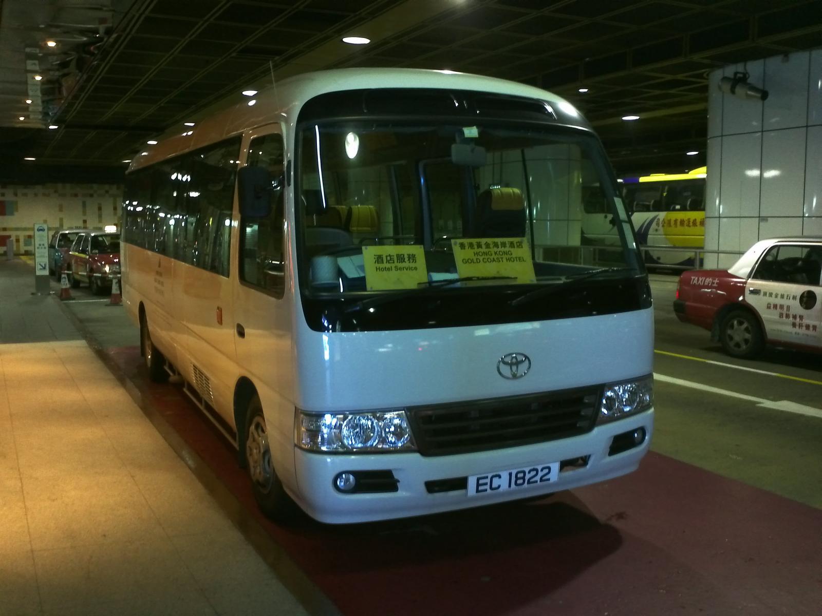 香港黃金海岸酒店穿梭巴士尖沙咀線