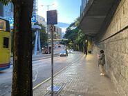 Kowloon Park Drive resident bus stop 19-08-2021