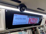 KMB 91A bus stop screen 19-06-2021