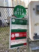 Ne Territories 811 and 811A minibus stop 16-08-2021