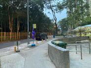Shan King Estate (King Lok House) bus stop 27-07-2021