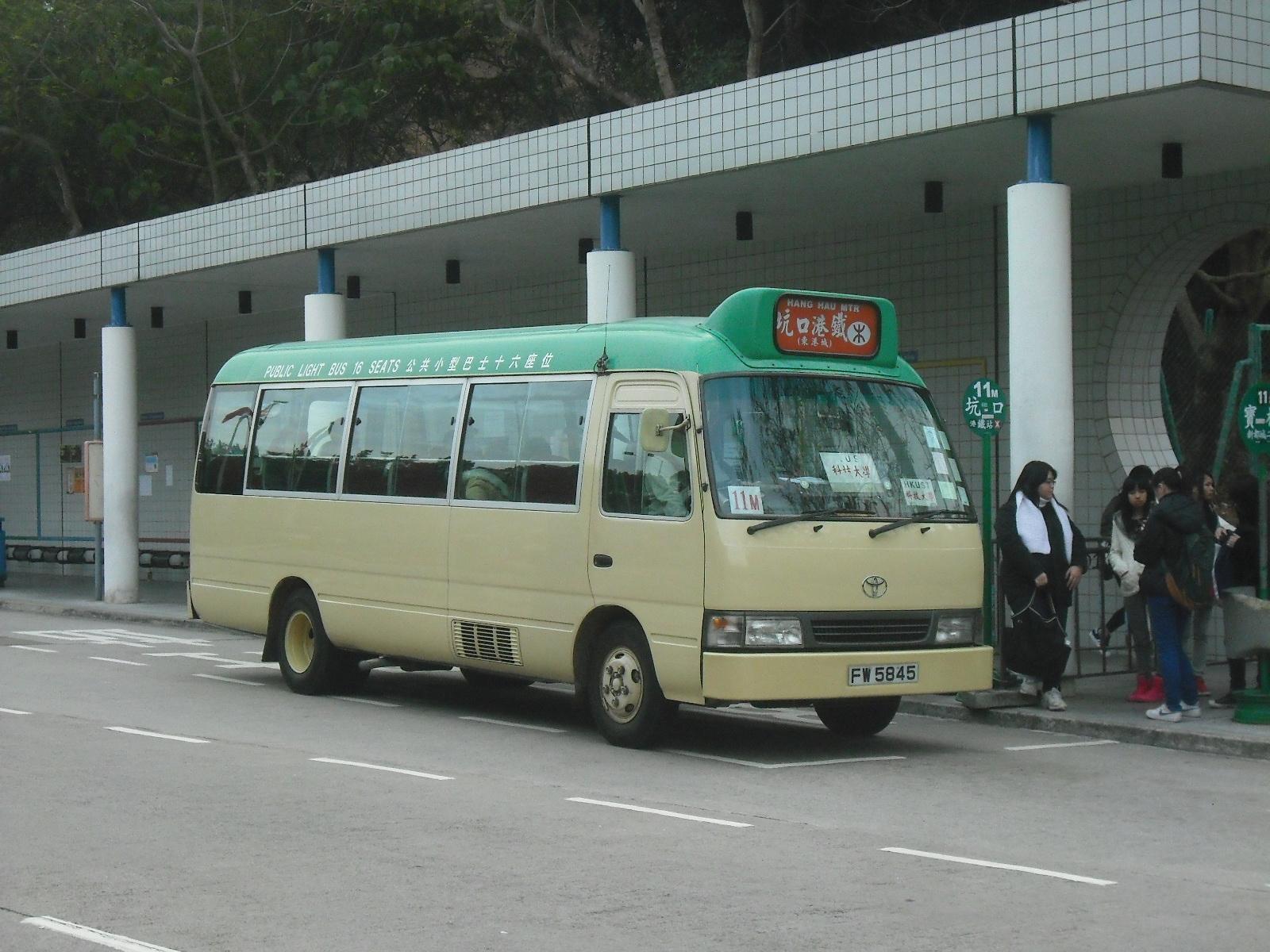 新界專綫小巴11M線