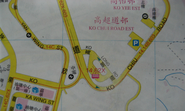 Yau Tong Ko Chiu Road map