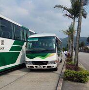 Fairview Park Shuttle Bus route 2-TJ9151
