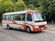 WU2761 JoJo Bus NR806 arrive Kwun Yam Garden 04-07-2020