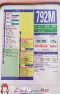 NWFB 792M SAK Bound RouteInfo