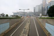 Lung Wo Road outside Tamar Park 20190223