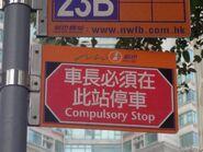 NWFB Compulsory Stop