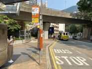 Hill Road(Po Fu Lam Road) bus stop 29-08-2020
