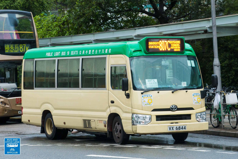 新界專綫小巴807C線
