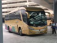 NH7827 Hong Kong-Zhuhai-Macao Bridge Shuttle Bus 26-10-2018