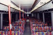 CTB 2500 upper decker seats
