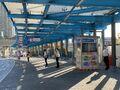NWFB staff in Tseung Kwan O Bus-Bus Interchange 03-10-2020