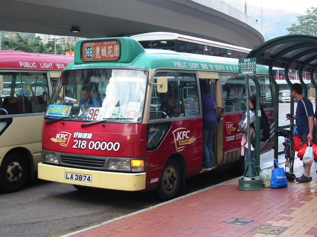 新界專綫小巴96B線