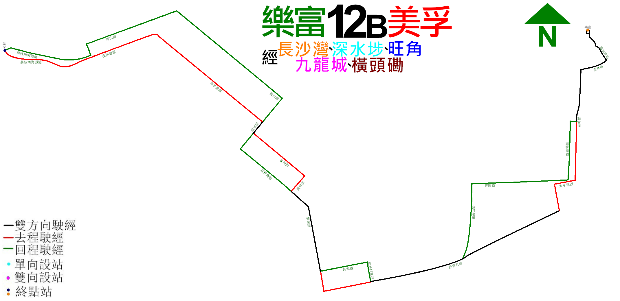 九巴12B線