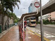 Kwai Fong Estate bus stop 27-08-2021(1)