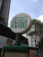 Pokfield Road minibus stop 30-03-2015